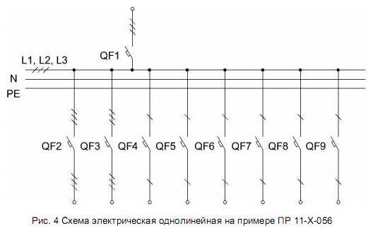пр схема